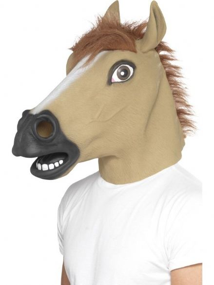 Horse Full Over Head Mask
